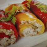 Pimientos con mozzarella