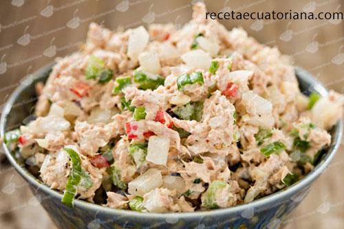 atún-con-pimiento-rojo-verde