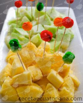 piña-y-manzana